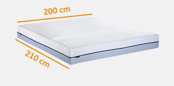 200 x 210 matras