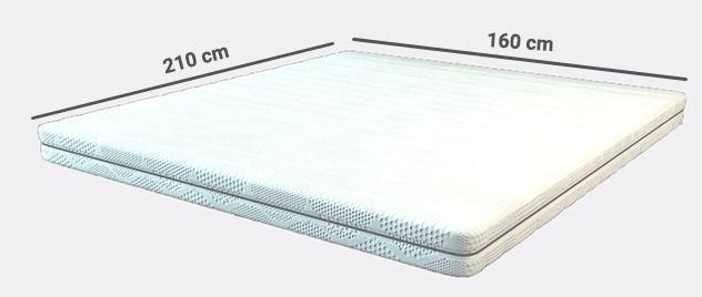 koudschuim matras 160x210