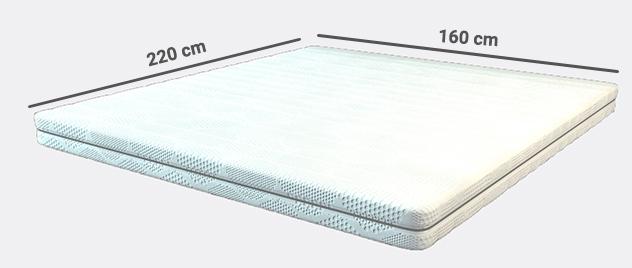 koudschuim matras 160x220