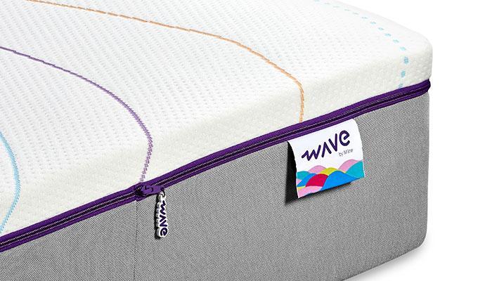 M Line Wave matras 90x210