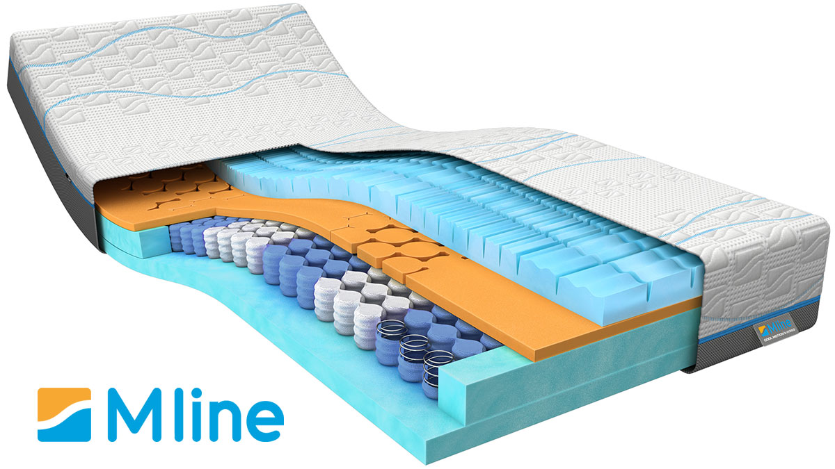 M Line matras 'Cool Motion Hybrid 6'  180x220