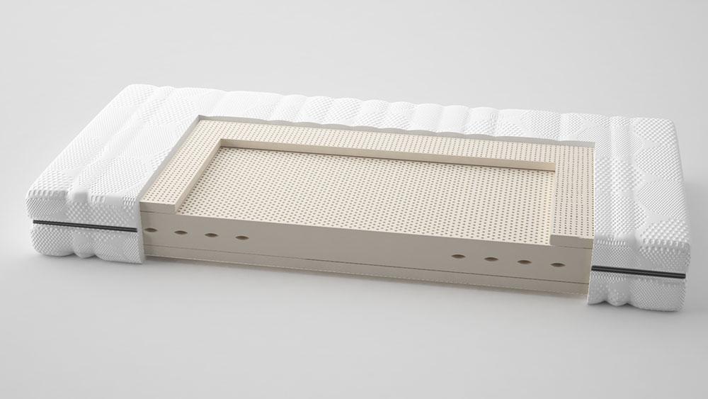 Talalay® latex matras 'Classic Medium' 180x220