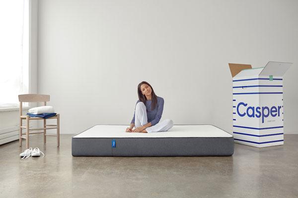 casper sleep- bed in a box matrassen