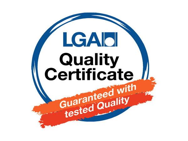 Matras Factory heeft het LGA-certificaat