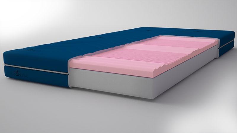 Pocketvering matras Nasa