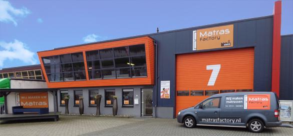 Showroom Matras Factory Heerenveen