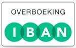 U kunt vooruitbetalen middels een overboeking via uw eigen bank